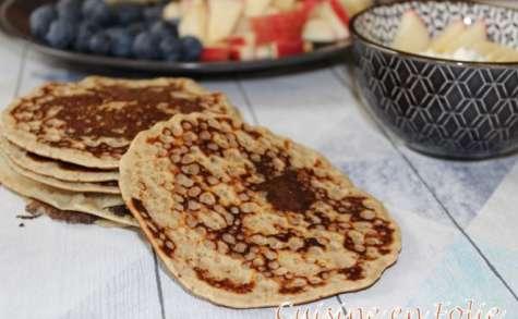 Pancakes de blé complet