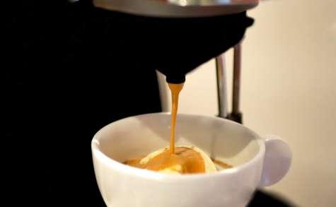 Affogato al caffè
