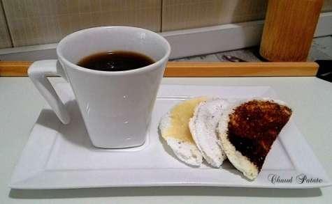 Tapioca brésilienne ou beiju de tapioca