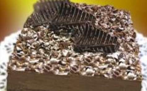 Croustillant (dit Royal ou Trianon) au Chocolat