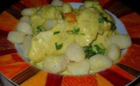 Curry de Poulet au Lait de Coco et Citron