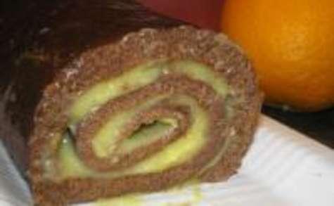 recettes de chocolat par certi'ferme : gâteau mousseux à l'orange