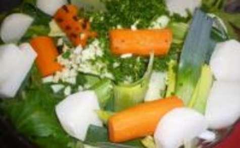 Pieds de Porc aux Légumes