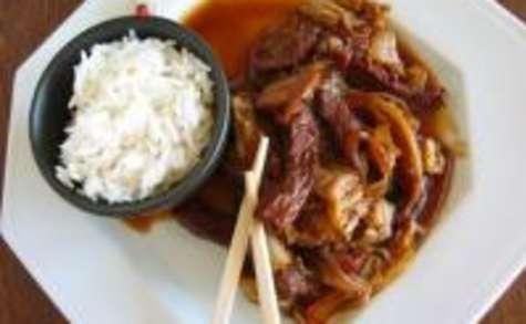 Porc au Chou à la Chinoise