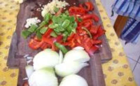 Poulet au Chou Chinois