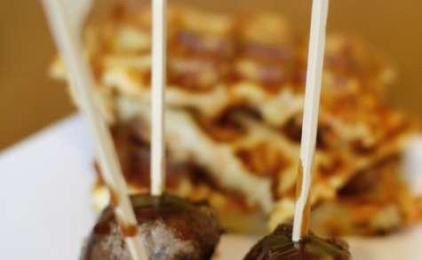 Boulettes de viande aux saveurs asiatiques