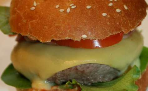 Hamburger (pain maison)