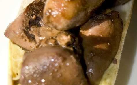 Stir-fry d'abatis de volaille