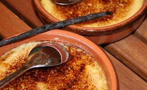 Crème brûlée maison