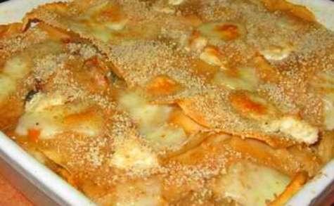 Lasagnes express du Languedoc aux fruits de mer