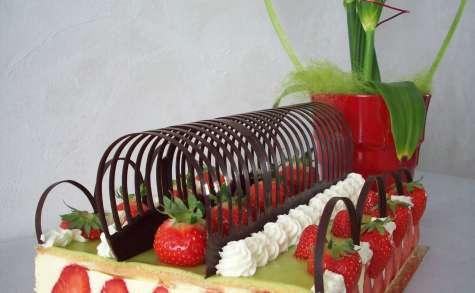 """Fraisier """"mon potager de fraises"""