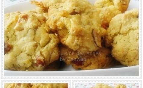 Cookies Salés aux Noisettes, Parmesan et Chorizo