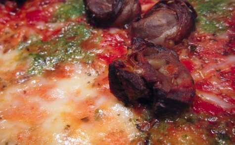 Pizza aux escargots