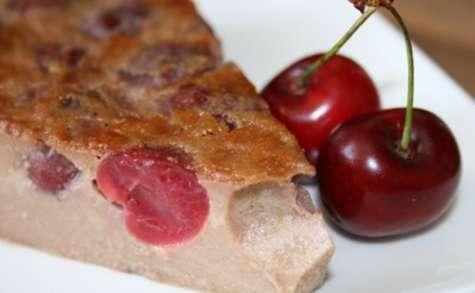 Clafoutis aux cerises & à la farine de châtaigne