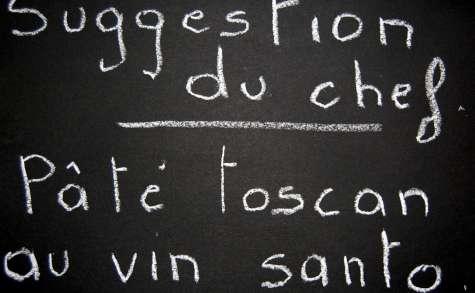 Pâte toscan au vin santo