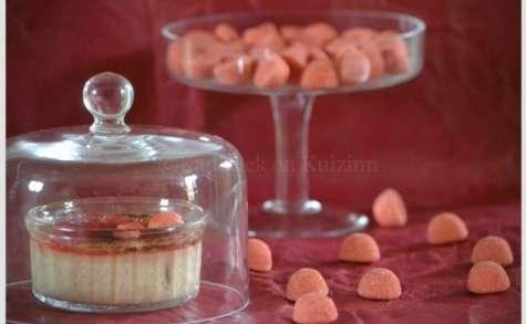 Crème brûlée aux fraises tagada