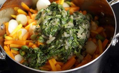 Jardinière de légumes : l'assemblage de la jardinière