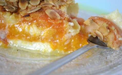 Clafoutis aux abricots et amandes bio