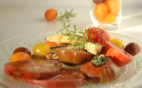 Salade de tomates anciennes bio {Terre de Crète}