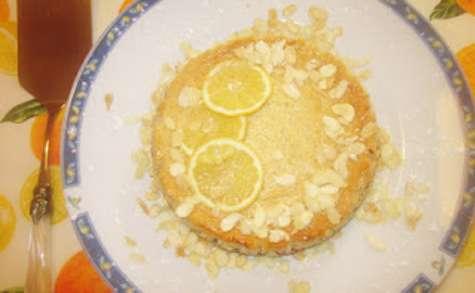 Tarte fraîche au Citron et Amandes