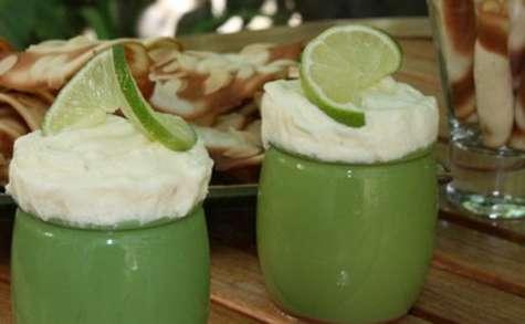 Soufflés glacés au citron vert