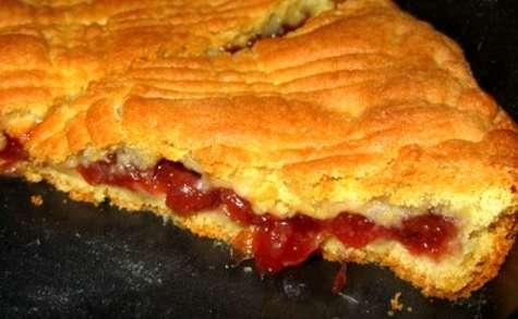 Le gâteau basque aux cerises – presque - comme au Pays Basque