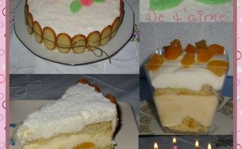 Gâteau d'Anniversaire : abricots, amandes et citrons
