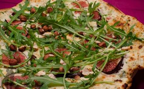 Pizza bianca figues et ricotta