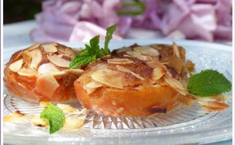 Bouchées gourmandes d'abricots aux amandes