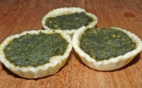 Jus de persil et mini tartelettes au persil (vegan)