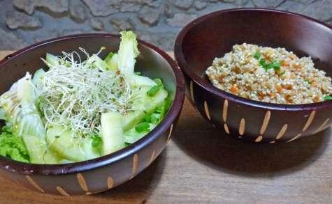 Duo de salades