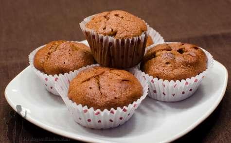 Muffins au caramel et fleur de sel