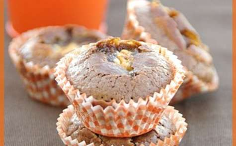 Moelleux au chocolat, coeur petit ourson guimauve® chocolat blanc