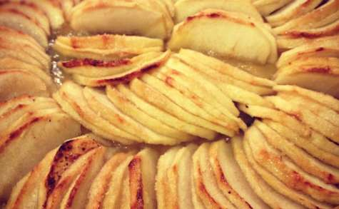 La tarte aux pommes sur pâte super sablée