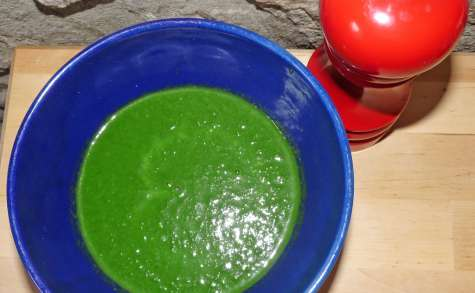 Soupe épinards et douceur d'épeautre (Bjorg)
