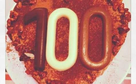 Gâteau mousseux chocolat, marron et noisettes