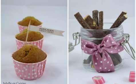 Muffins à la réglisse