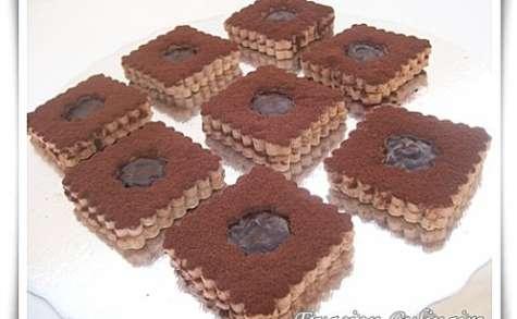 Sablés fondants au chocolat