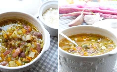 La soupe au pistou aux légumes de Nice