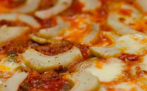 Pizza au thon et à l'artichaut