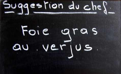 Foie gras au verjus, galette de champignons, marmelade de citron
