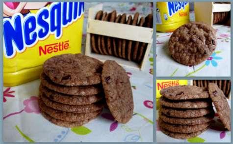 Les Cookies au Nesquik