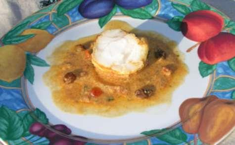 Lotte au curry et au yaourt