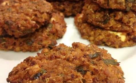 Les galettes du soir... boulgour, quinoa et féta