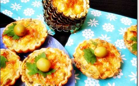 Mini quiche thon / olive