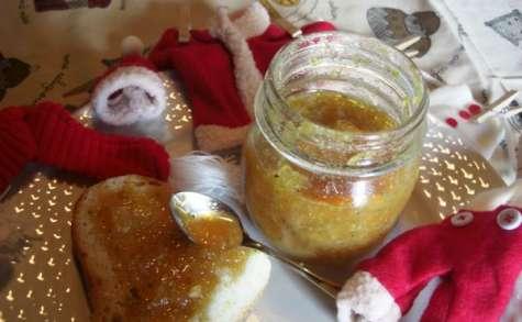 Confiture d'oranges de Sicile aux pistaches