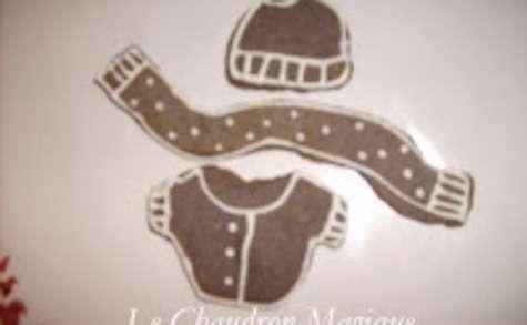 Biscuits pulls, bonnets, écharpes, gants et ponchos