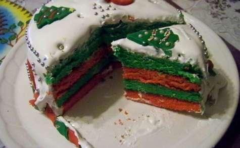 gâteau caché ou Gâteau de Noël