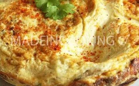 Omelette-champignons aux piment d'espelette