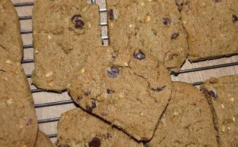 Palets au chocolat et au beurre de cacahuète